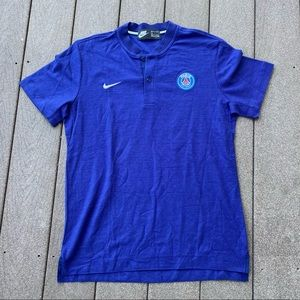 Nike Paris Saint Germain Soccer Jersey Shirt Large